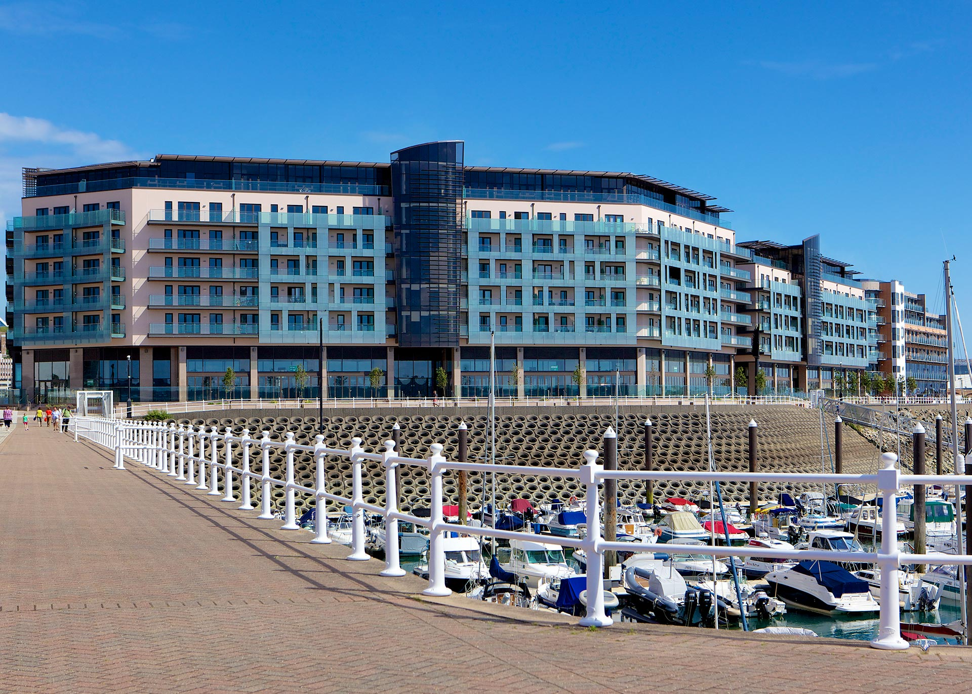 The Castle Quay development in St Helier