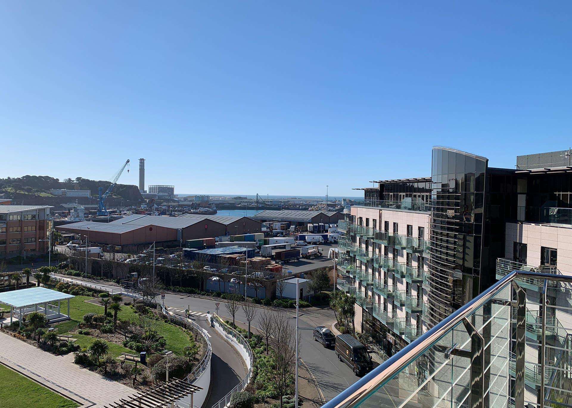 Apartment B517 Millias House-views from balcony