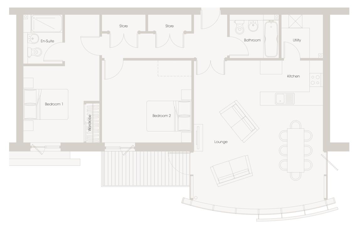 Floorplan 517 Millias House