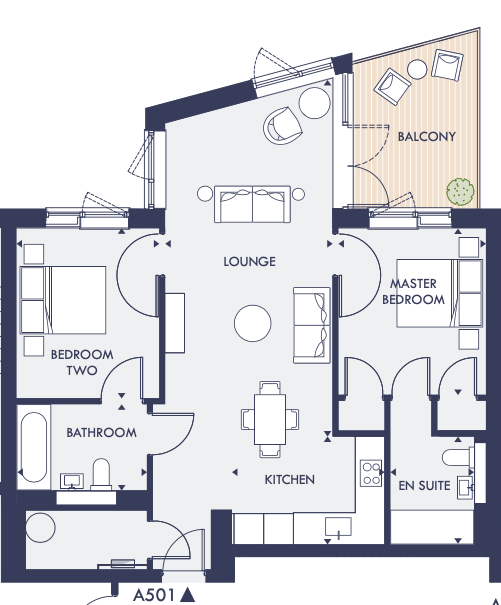 A501 W1 Westmount apartment