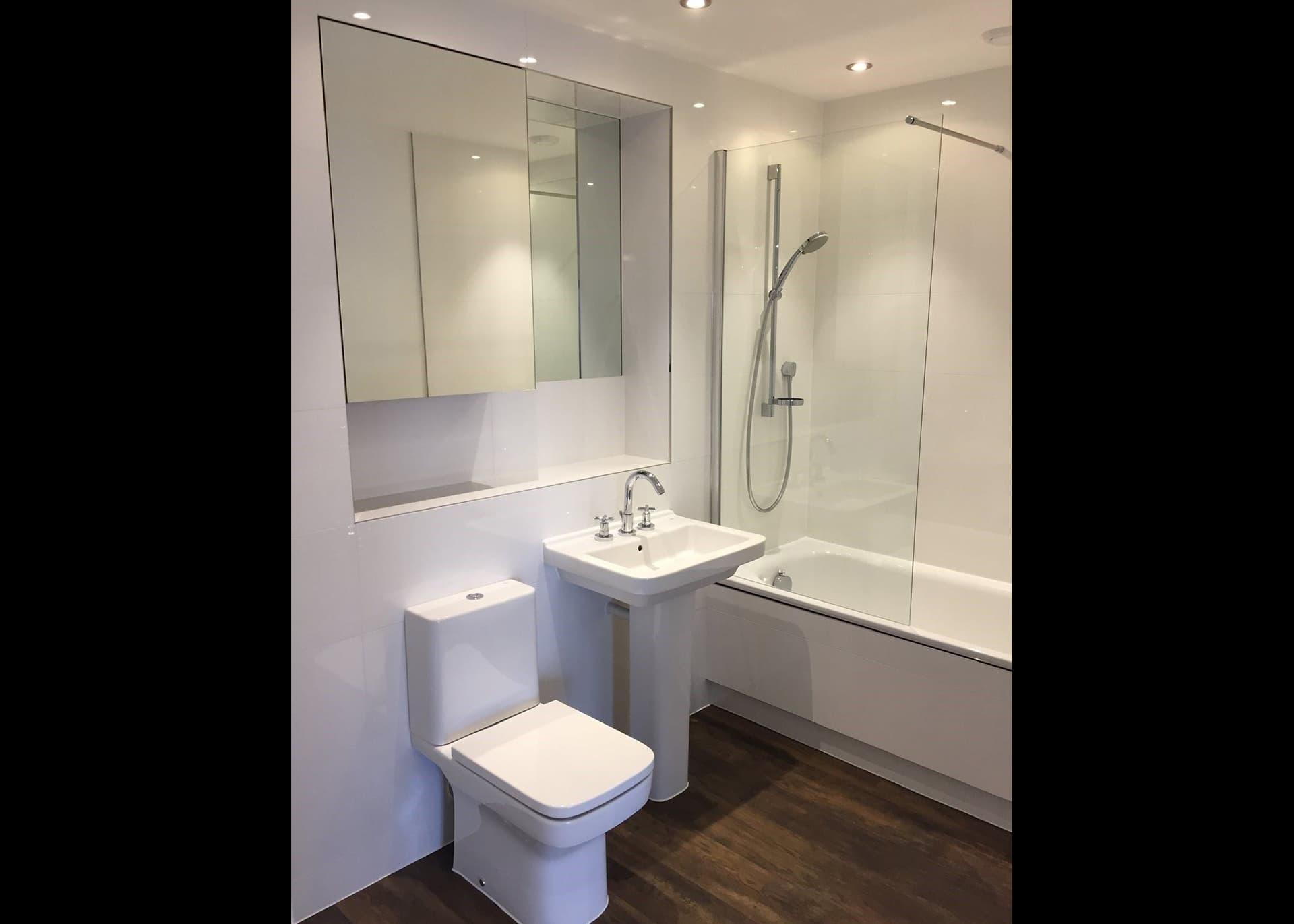 Apartment A702 Westmount bathroom