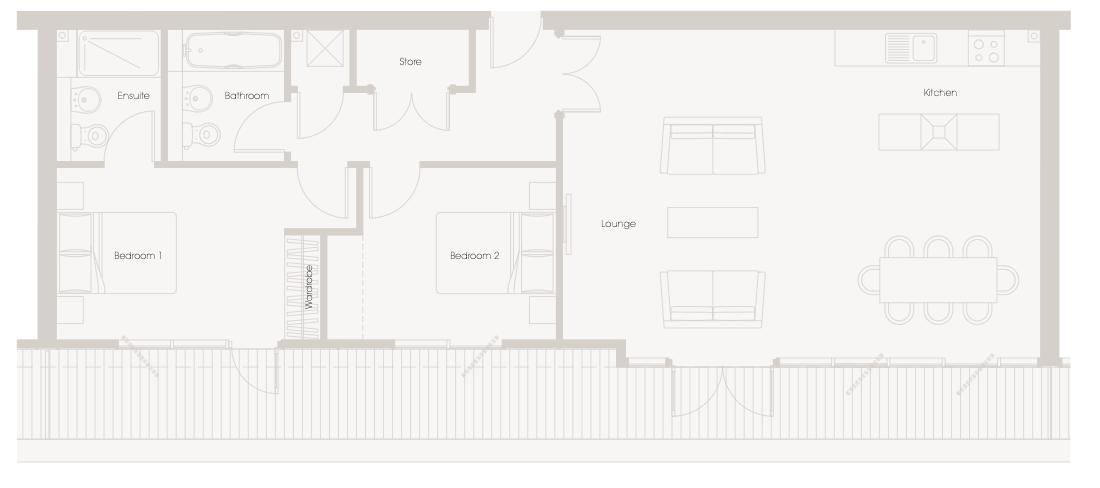Apartment B613 Millais House