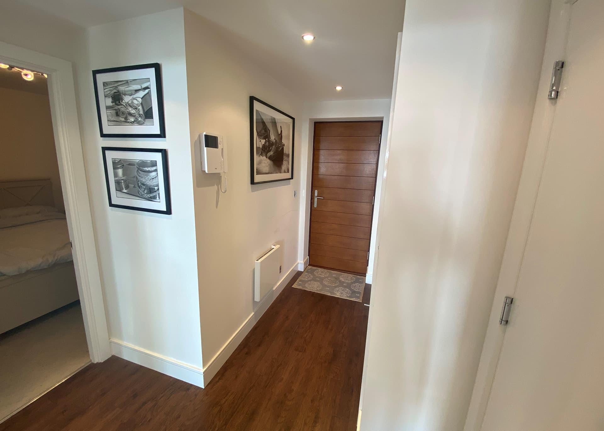 Apartment B235 hallway