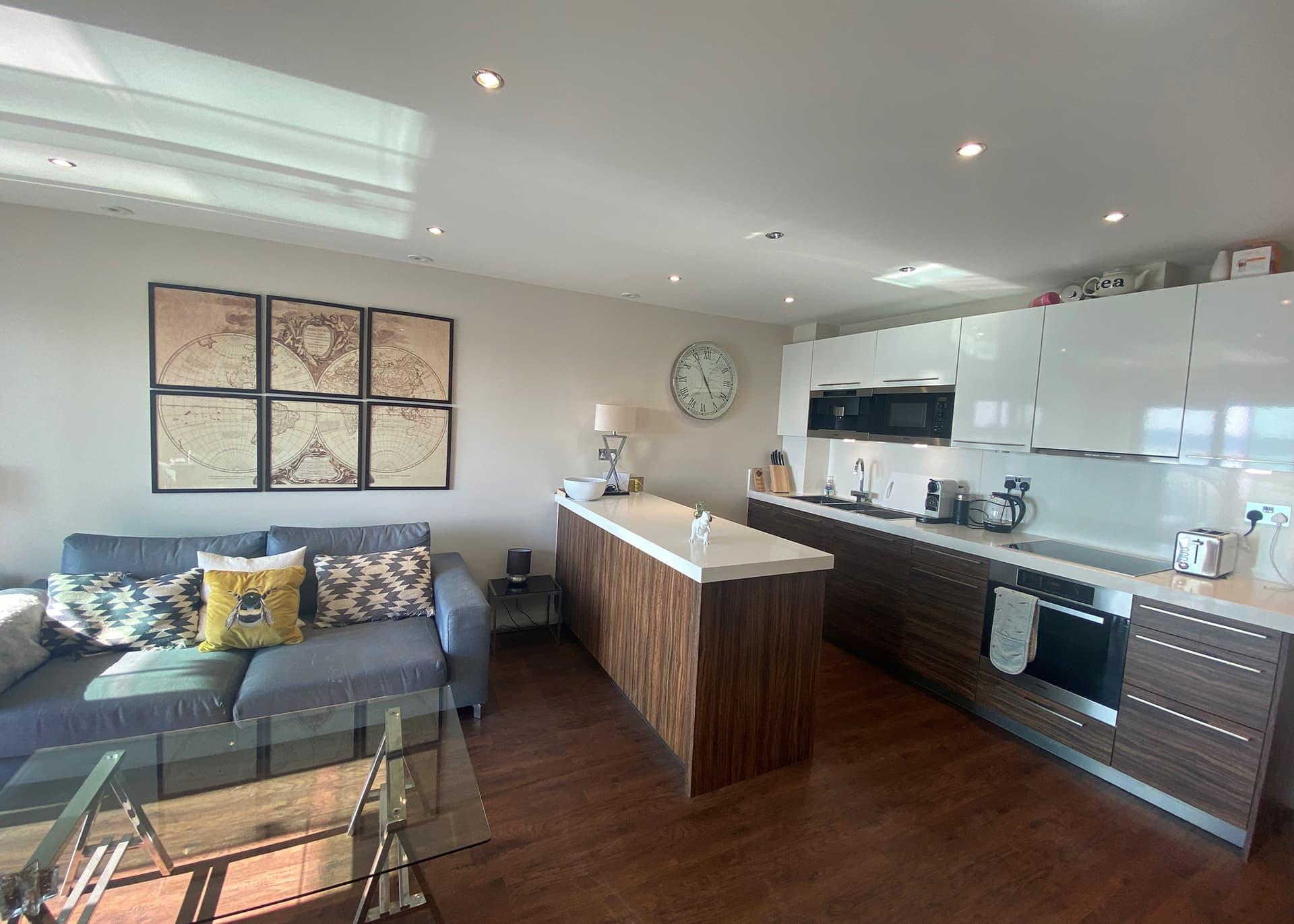 Apartment B235 living space