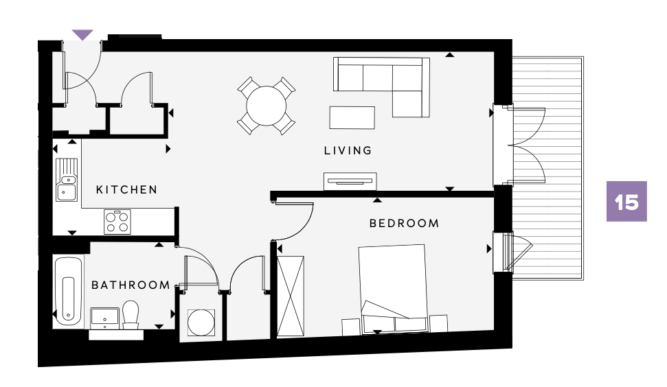 Hilary Street A15 Floorplan