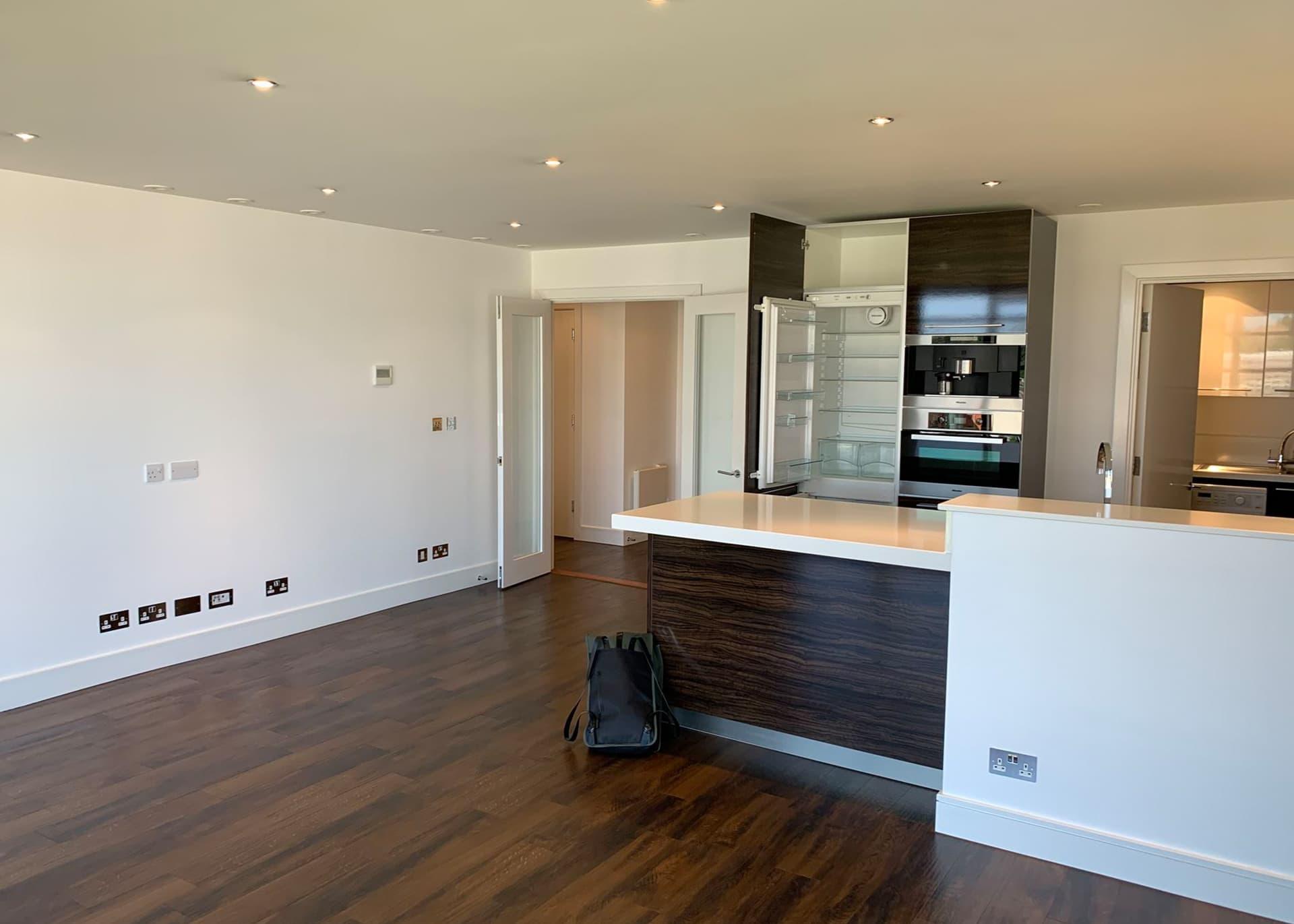 B317 apartment living space Castle Quay