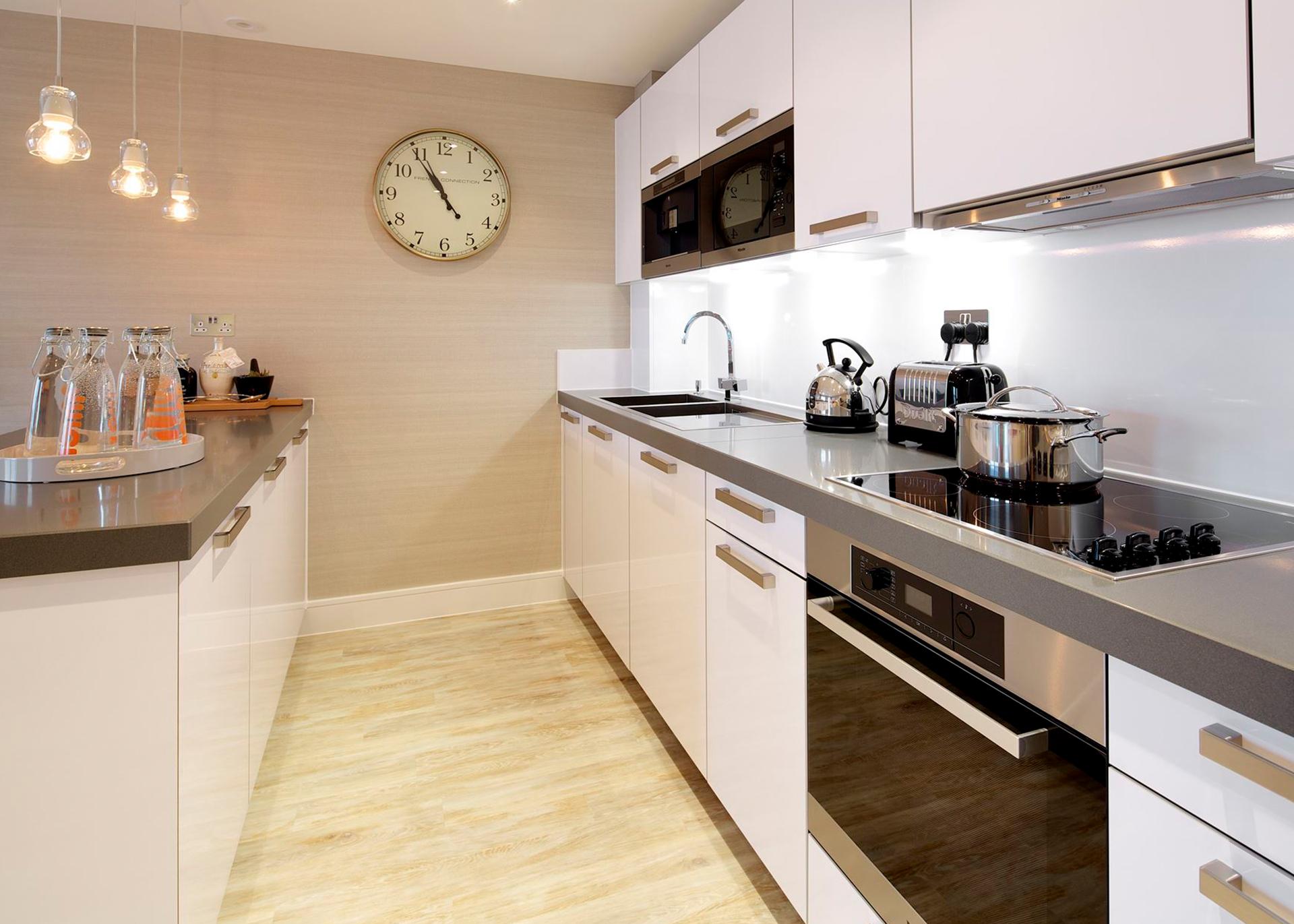 B439 Millias House Castle Quay Kitchen apartment