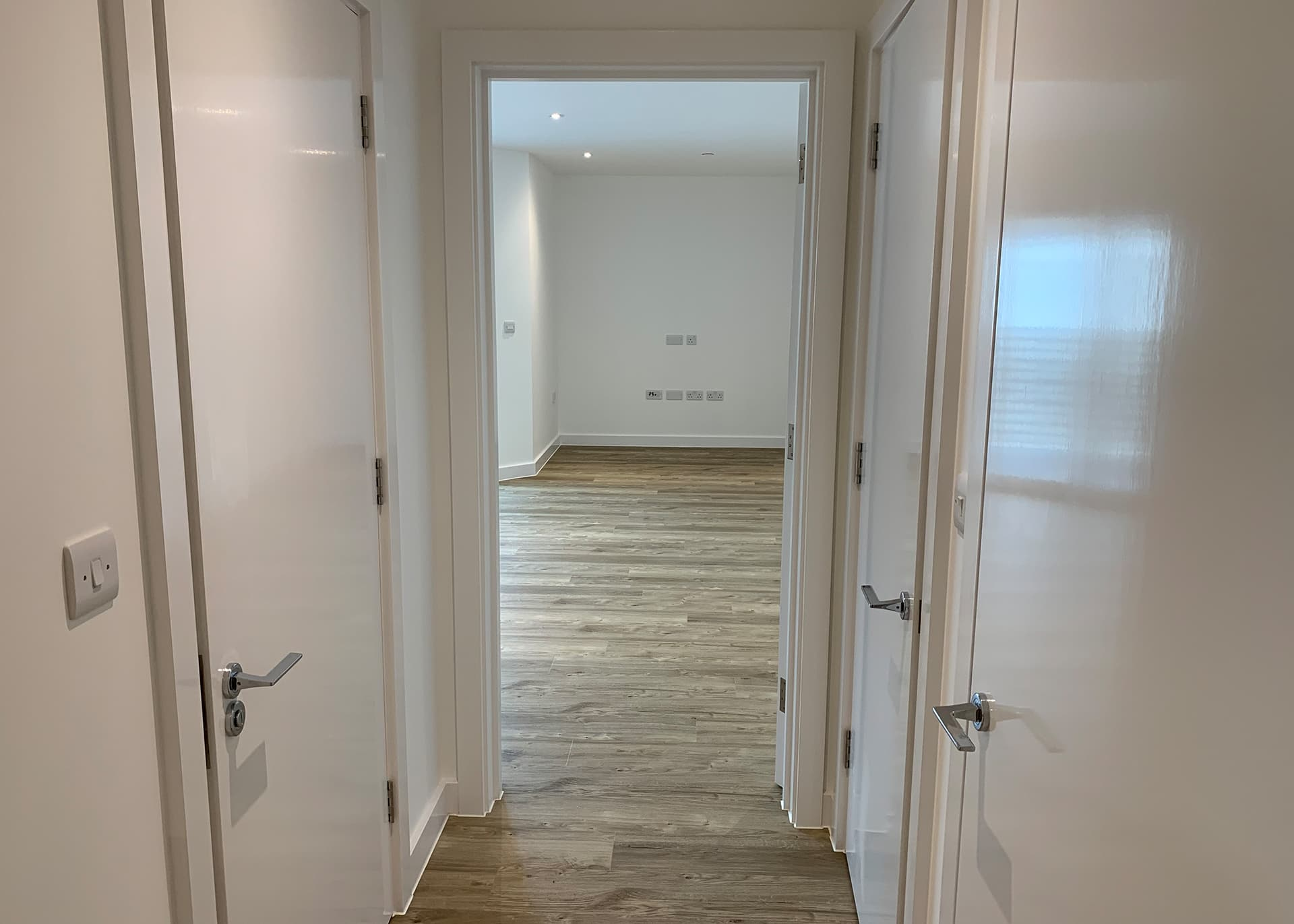 Hallway in Apartment A19 to rent Hilary Street to Rent in Jersey