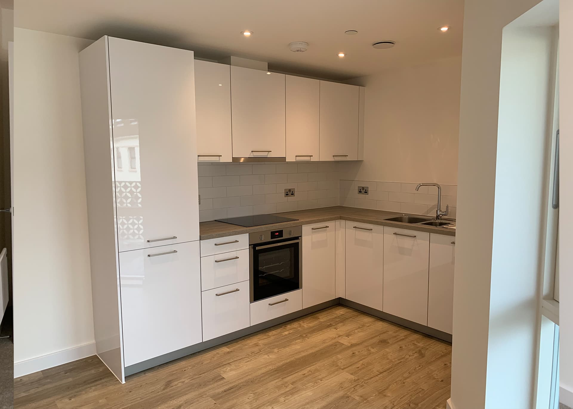 Kitchen in Apartment A19 to rent Hilary Street to Rent in Jersey