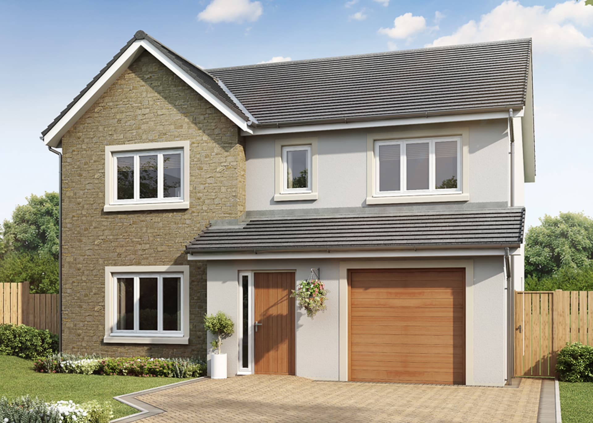 The Beech Reayrt Mie to rent 4 bed house
