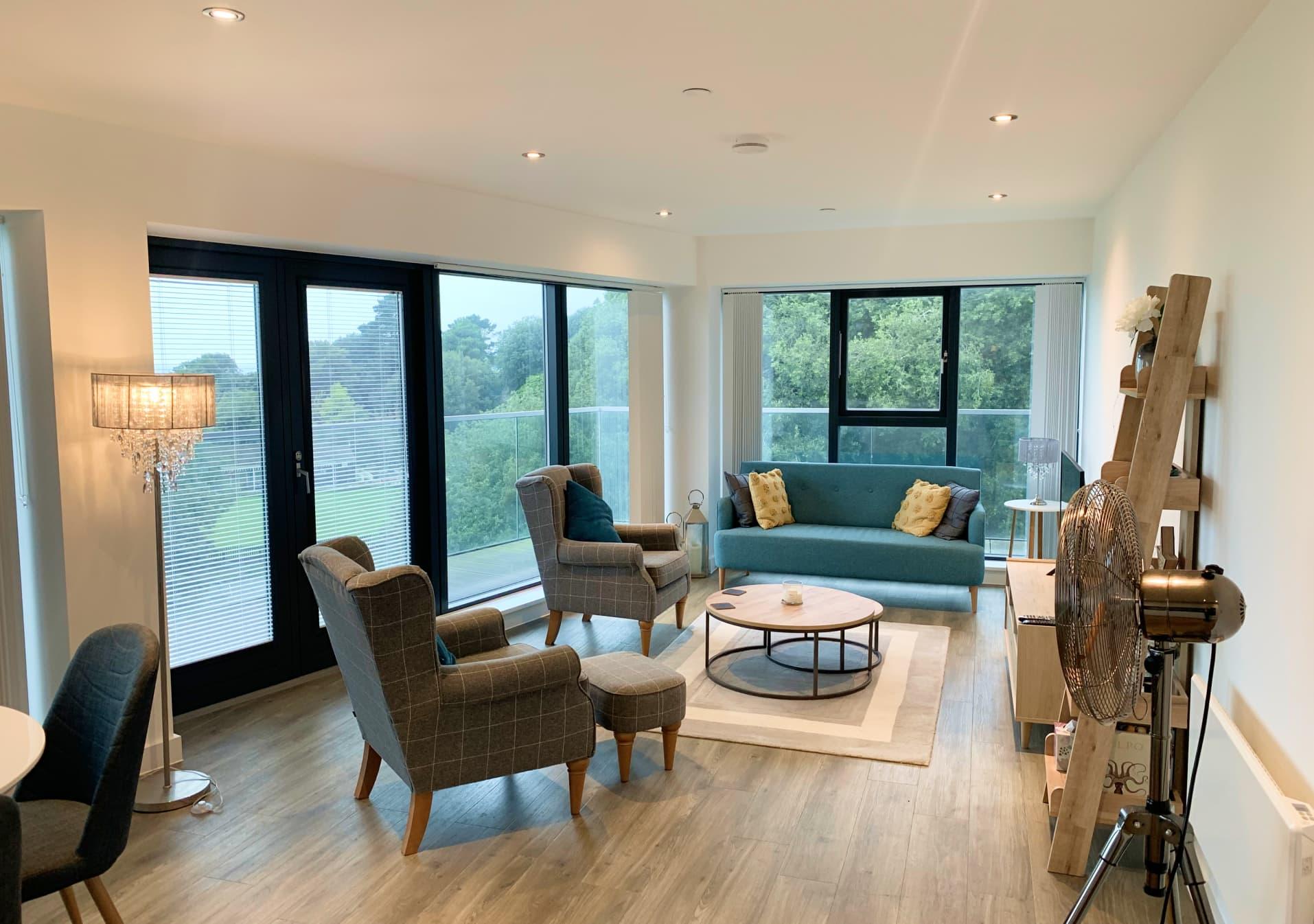 Penthouse Apartment 703 Westmount Open Plan Living Space